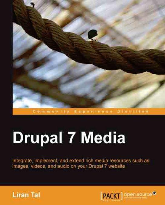 Drupal 7 Media book cover